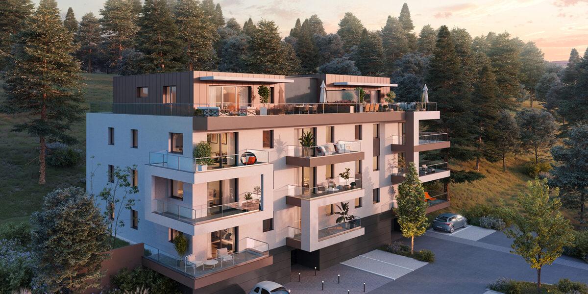 Appartement à vendre : Evian-les-bains . 68.71 m² . 3 pièces