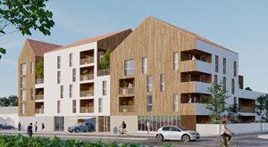 Programme immobilier neuf de 1 à 4 pièces Aytre