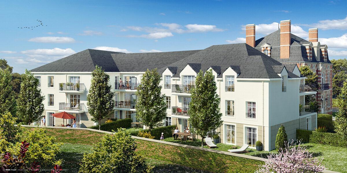 Appartement à vendre : Le-plessis-belleville . 40.97 m² . 2 pièces