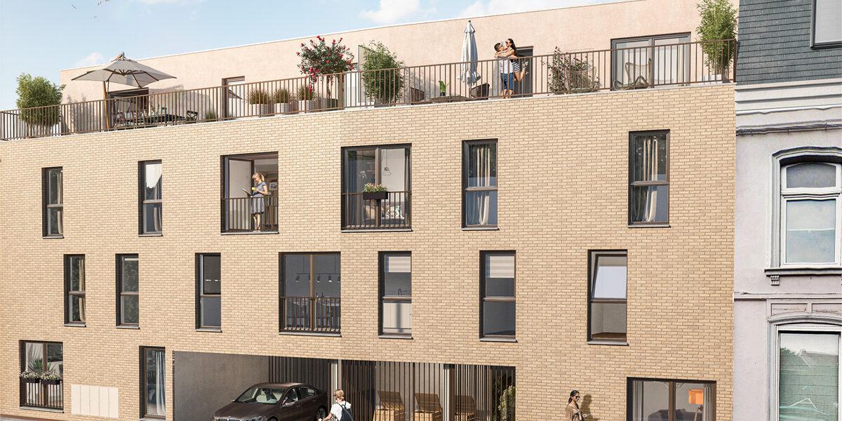 Appartement à vendre : Roncq . 26.2 m² . 1 pièce / studio