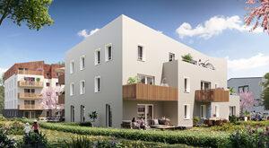 Programme immobilier neuf de 1 à 4 pièces Vandoeuvre Les Nancy