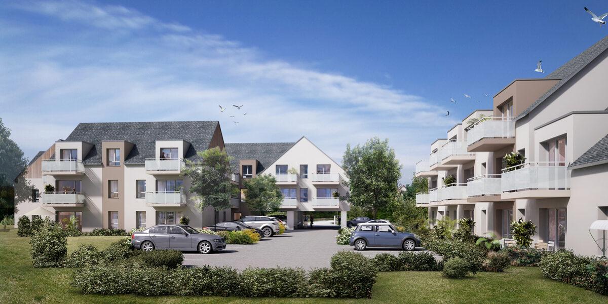 Appartement à vendre : Ouistreham . 37.08 m² . 2 pièces