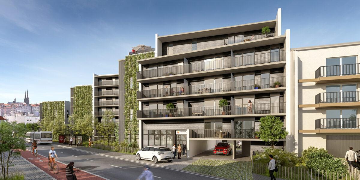 Appartement à vendre : Clermont-ferrand . 37.23 m² . 1 pièce / studio