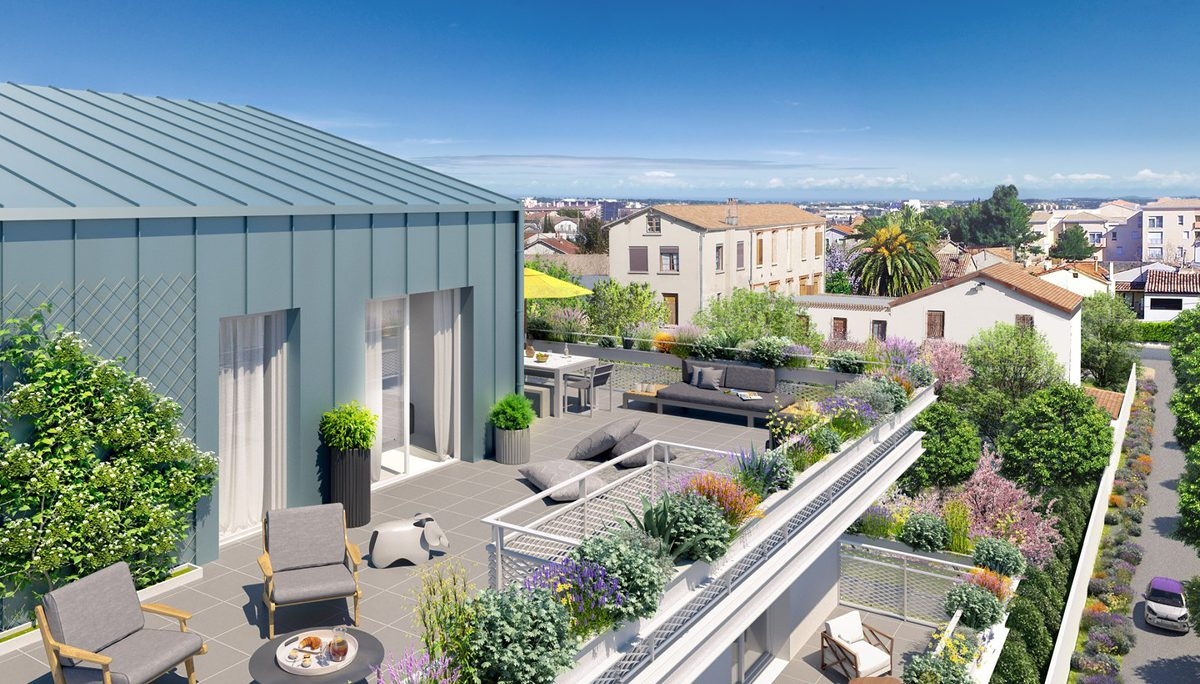 Programme immobilier neuf ALCOVE - MONTPELLIER
