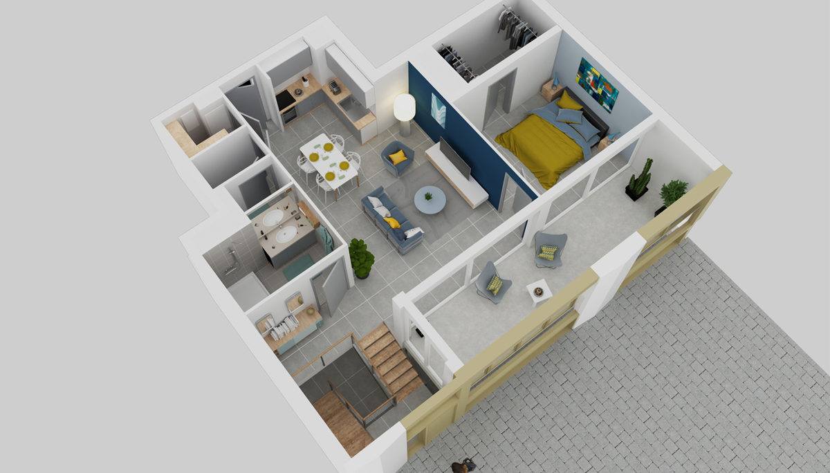 Programme immobilier neuf FAUBOURG 56 - MONTPELLIER
