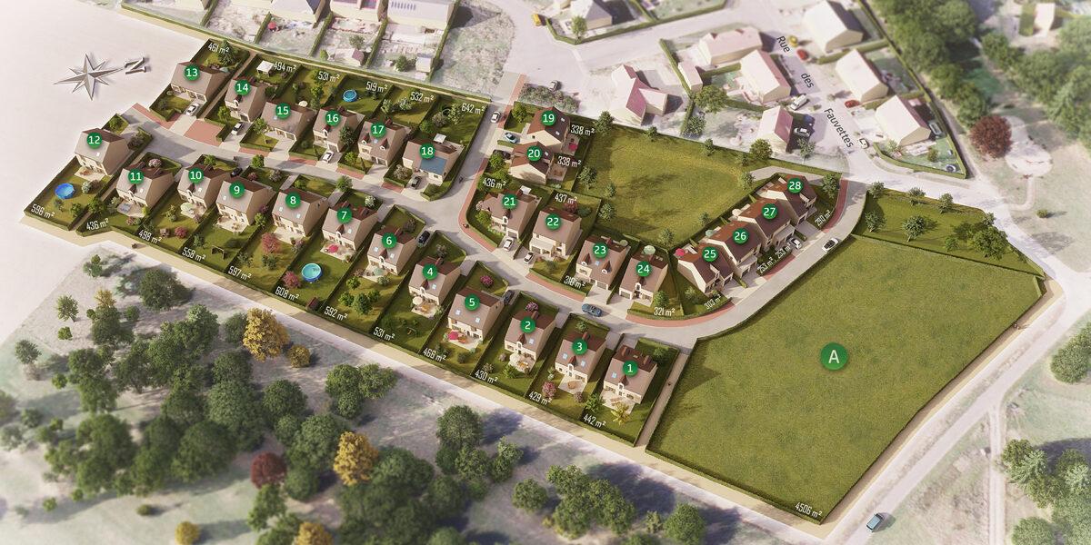 Terrain Constructible à vendre : Waldwisse . 461 m²