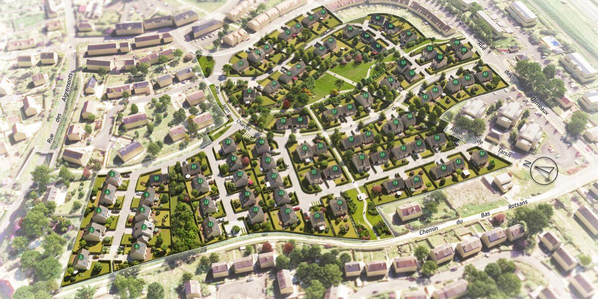 Terrain Constructible à vendre : Vendome