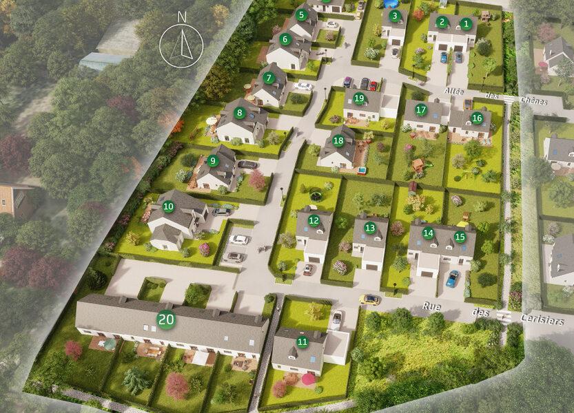 Terrain Constructible à vendre : Dingé . 335 m²