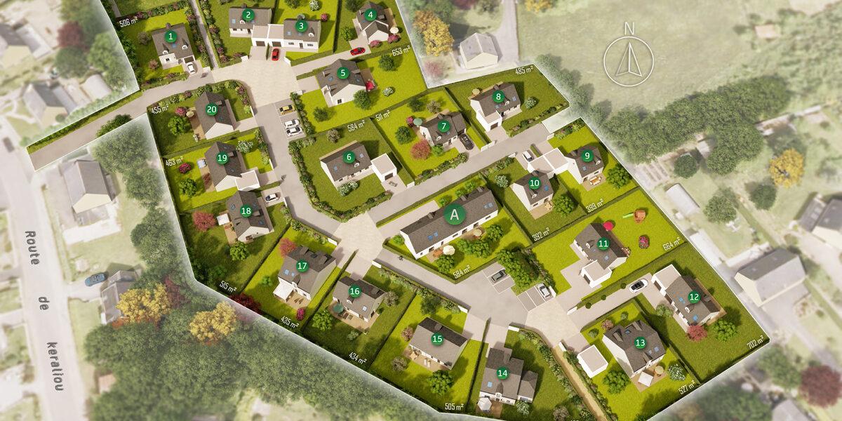 Terrain Constructible à vendre : Hopital-camfrout