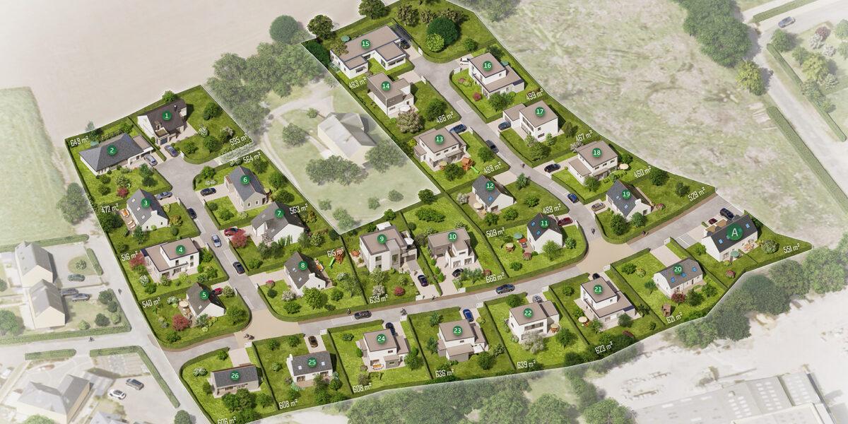 Terrain Constructible à vendre : Ploudalmezeau