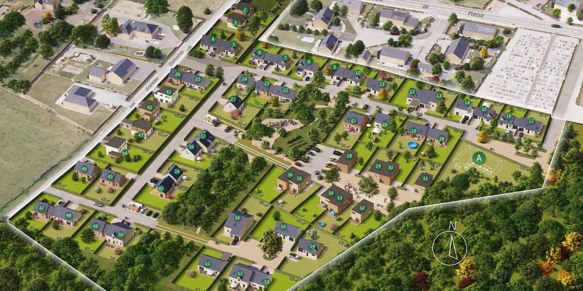 Terrain Constructible à vendre : Vay