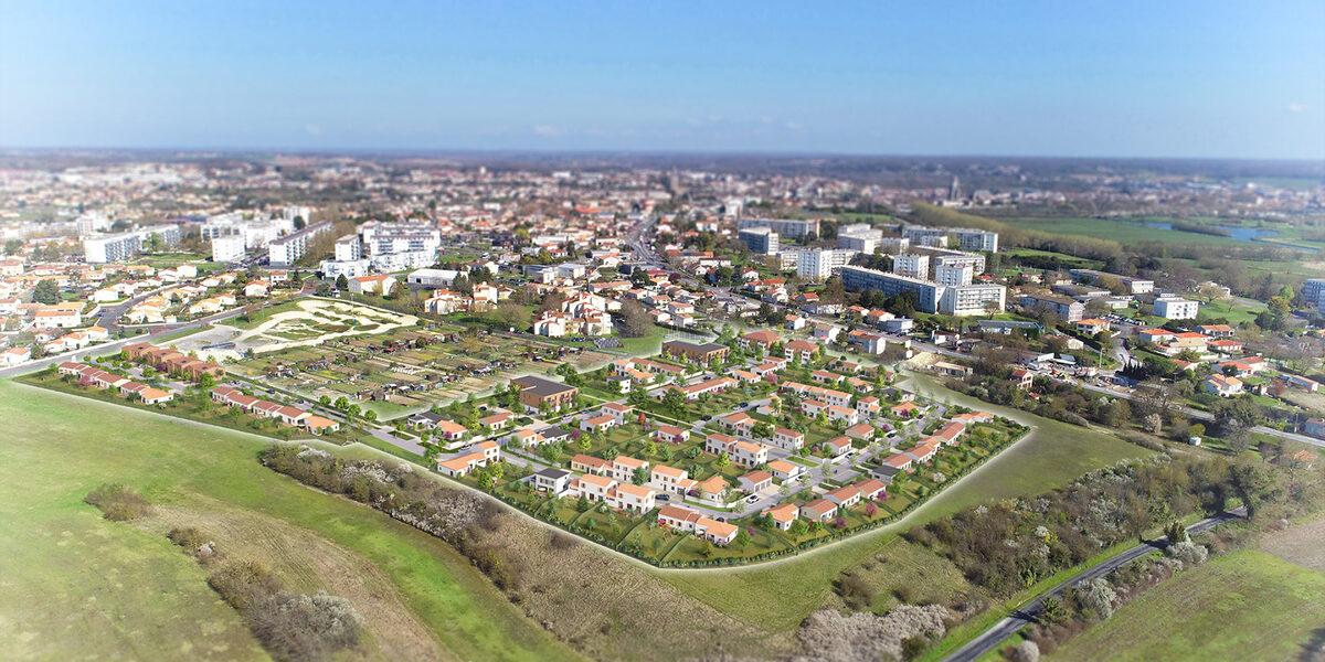 Terrain Constructible à vendre : Saintes . 381 m²