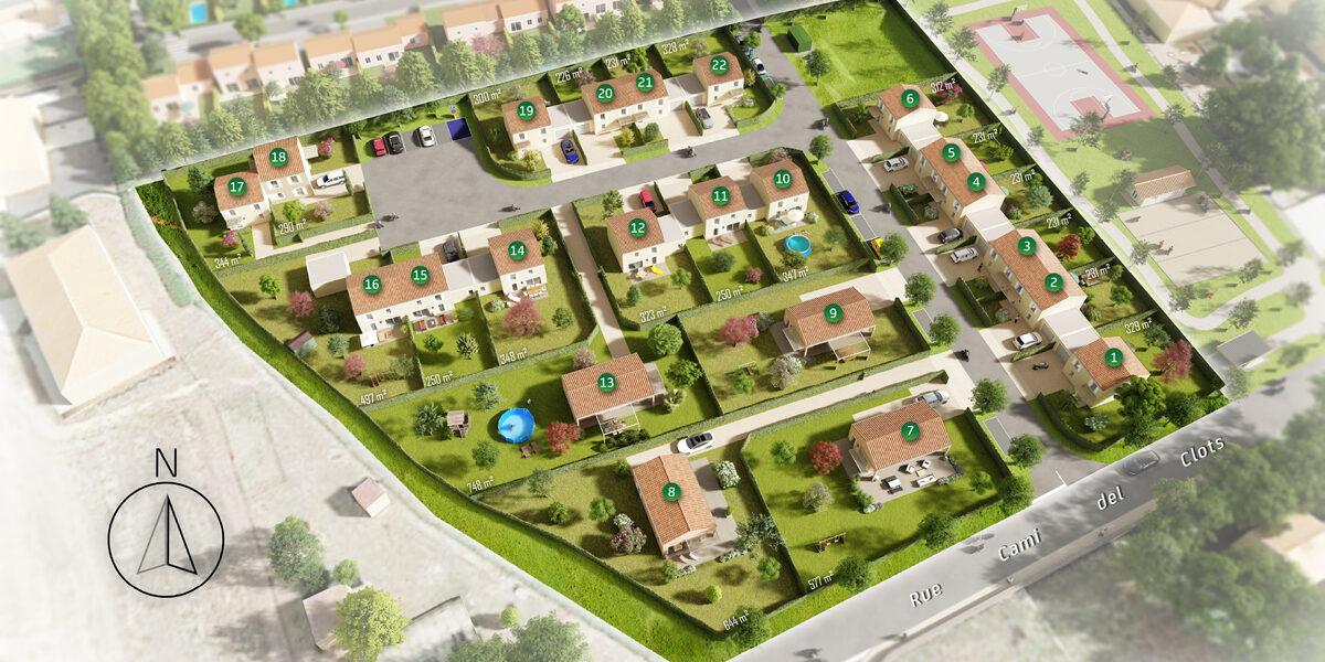 Terrain Constructible à vendre : Marquixanes . 231 m²