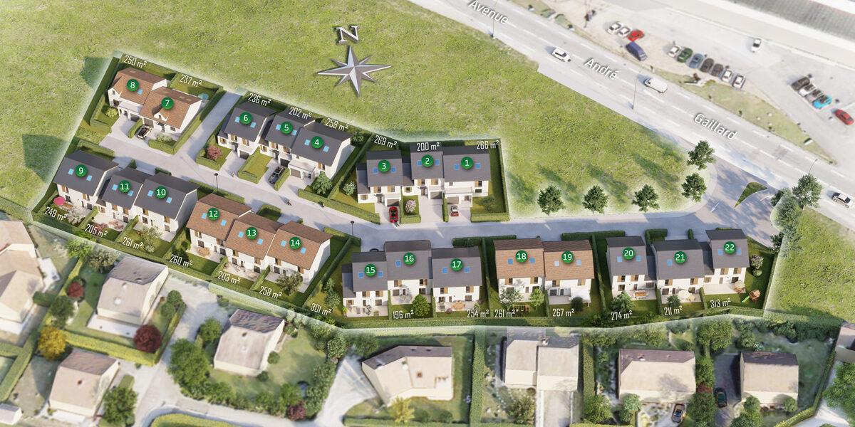 Terrain Constructible à vendre : Cluses . 200 m²