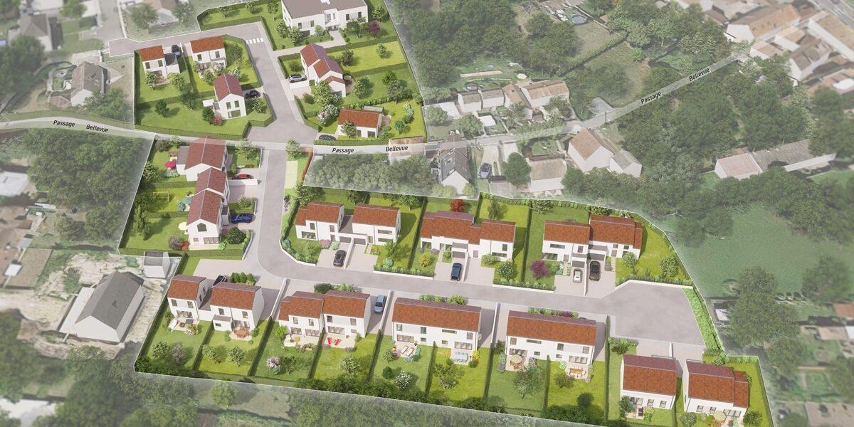 Terrain Constructible à vendre : Saint-martin-du-tertre