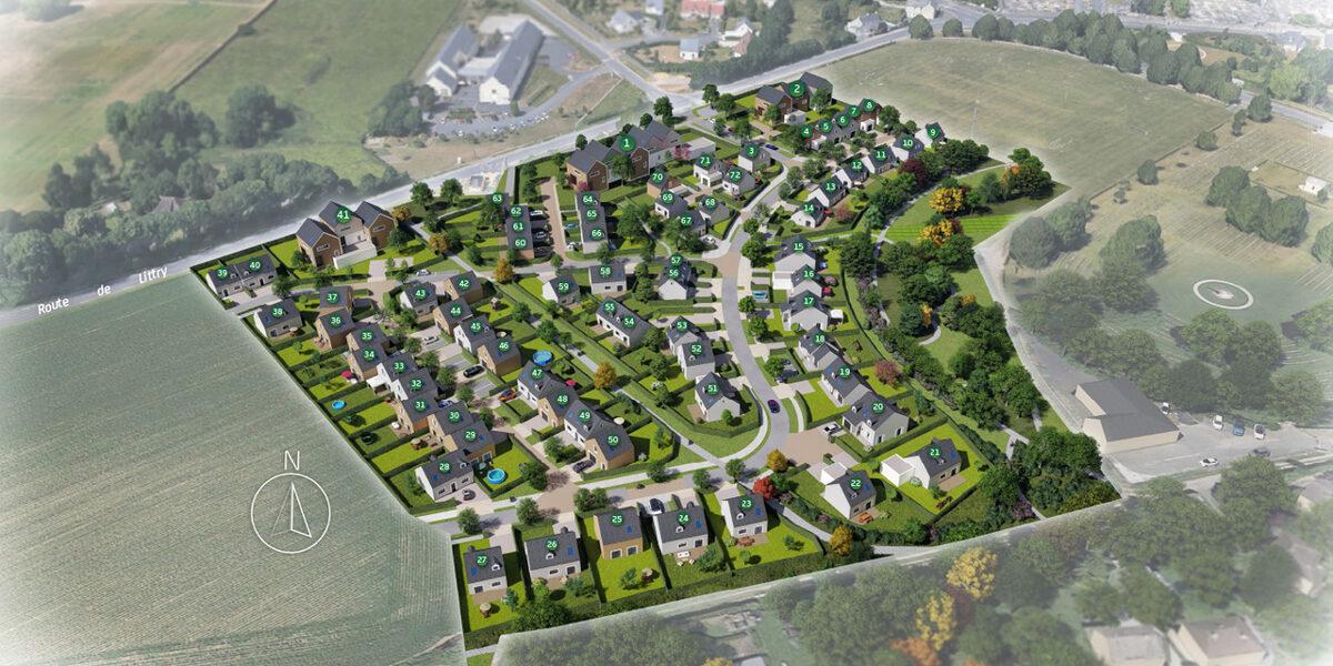 Terrain Constructible à vendre : Bayeux