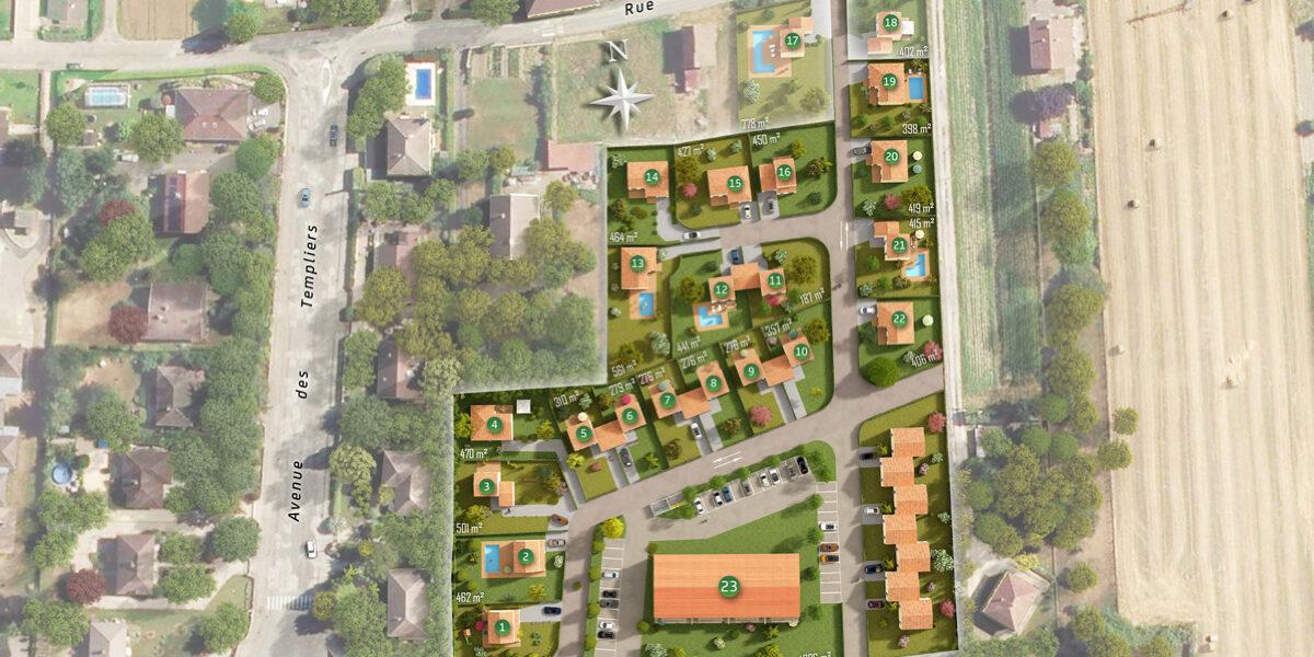 Terrain Constructible à vendre : Pontcharra . 357 m²