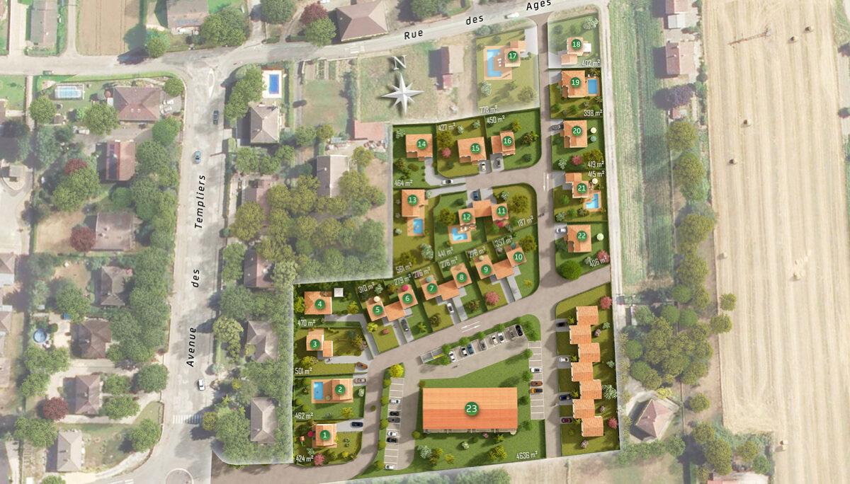 Programme immobilier neuf LES JARDINS D AUGUSTIN - PONTCHARRA