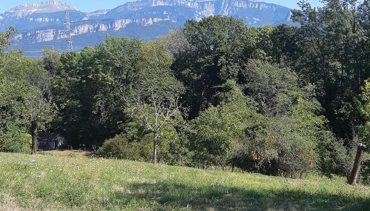Terrain Constructible à vendre à Moirans . 472 m²