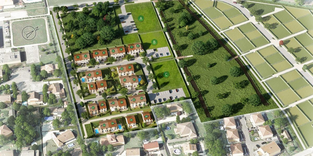 Terrain Constructible à vendre : Tullins . 253 m²