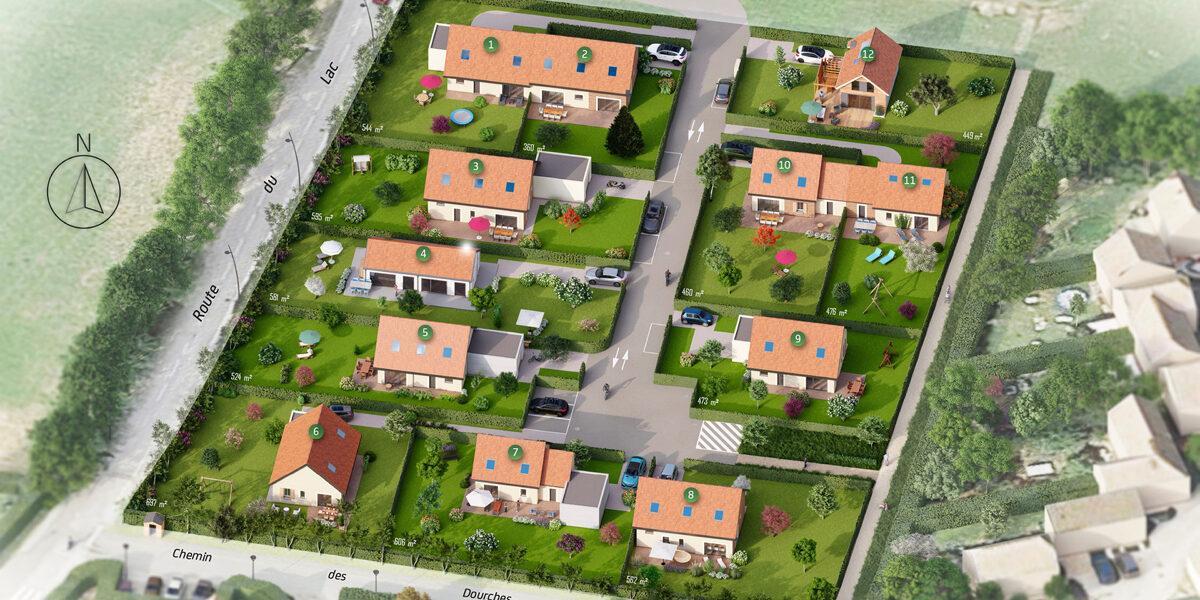 Terrain Constructible à vendre : Sinard