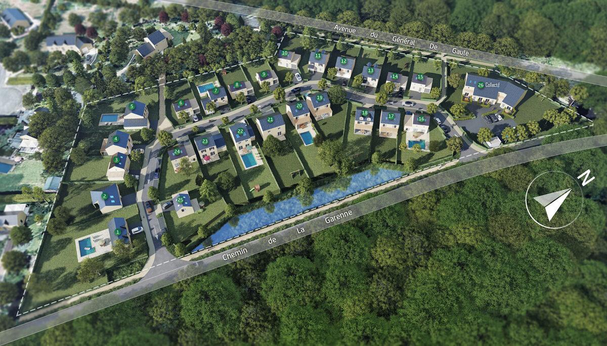 Programme immobilier neuf LE CLOS DES MAGNOLIAS - GAZERAN
