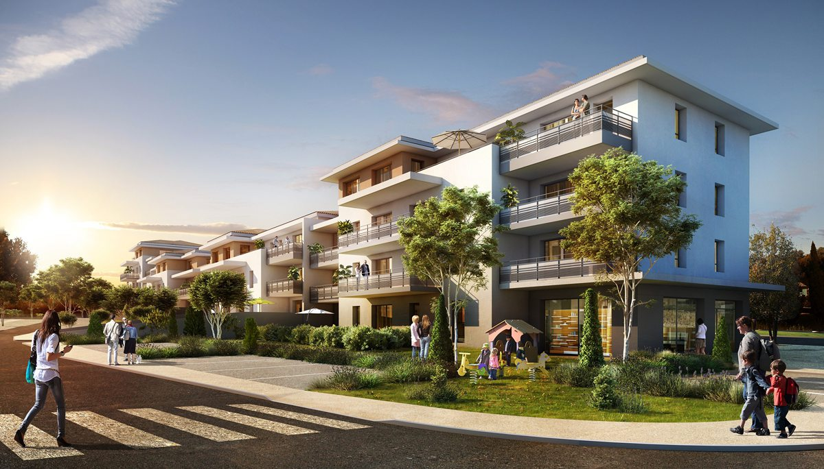 Programme immobilier neuf DOMAINE DES PINS - CUERS