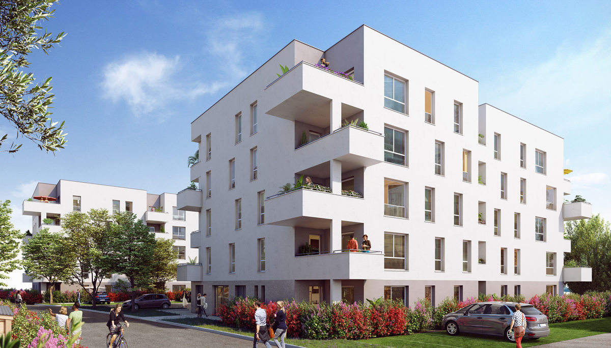 Programme immobilier neuf LE 90 DOMAINE - VILLEFONTAINE