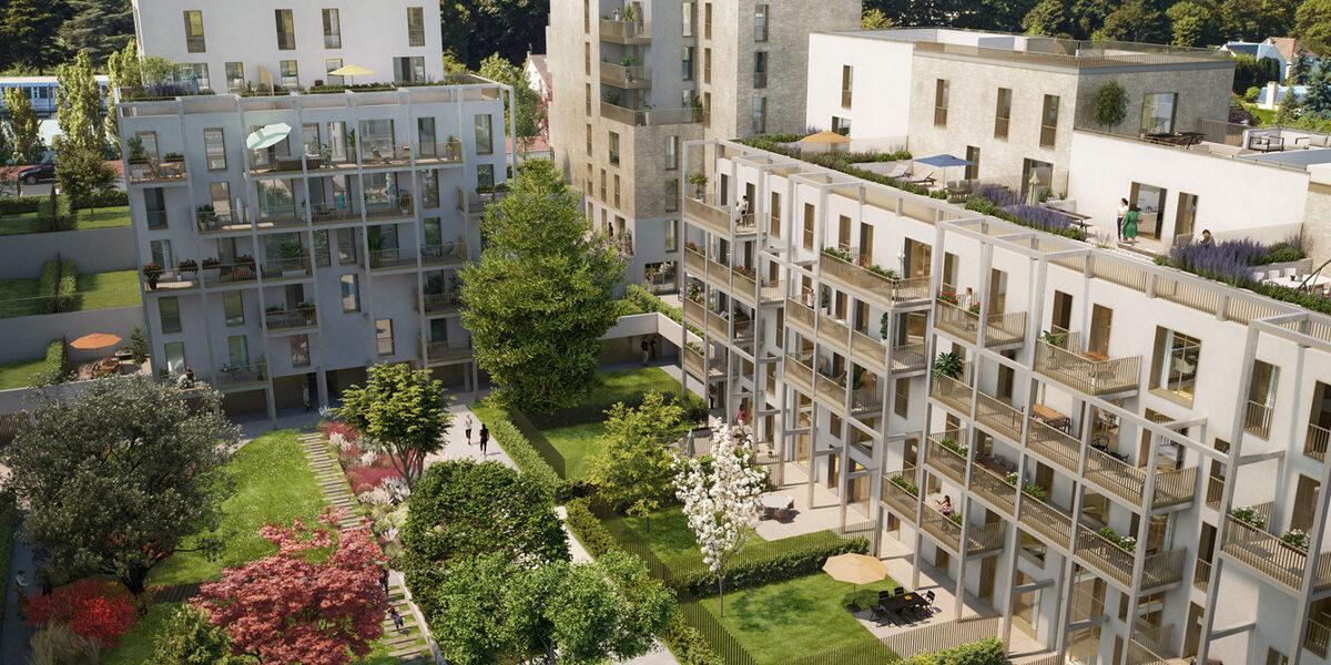 Appartement à vendre : Rueil-malmaison . 38.02 m² . 2 pièces