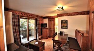 Appartement 3 pièces de 35 m² Chamonix Mont Blanc à vendre